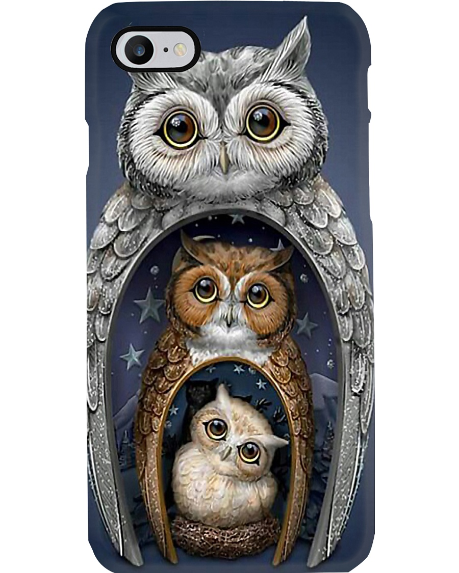 I LOVE OWL Phone Case