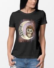 I LOVE OWL  Ladies T-Shirt lifestyle-women-crewneck-front-10