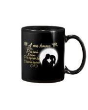 TO MY WIFE -- FRENCH Mug thumbnail