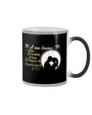 TO MY WIFE -- FRENCH Color Changing Mug thumbnail