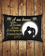TO MY WIFE -- FRENCH Rectangular Pillowcase aos-pillow-rectangle-front-lifestyle-2