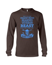 BEARDED VETERAN Long Sleeve Tee thumbnail