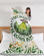 """Gift Large Fleece Blanket - 60"""" x 80"""" aos-coral-fleece-blanket-60x80-lifestyle-front-11"""