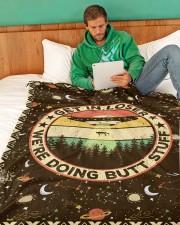 """Gift Large Fleece Blanket - 60"""" x 80"""" aos-coral-fleece-blanket-60x80-lifestyle-front-06"""