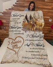 """Gift Large Fleece Blanket - 60"""" x 80"""" aos-coral-fleece-blanket-60x80-lifestyle-front-04"""