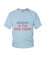 GAMING IS THE NEW TREND Youth T-Shirt thumbnail