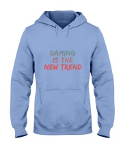 GAMING IS THE NEW TREND Hooded Sweatshirt front