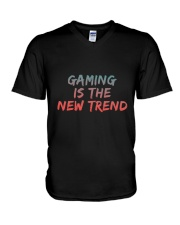 GAMING IS THE NEW TREND V-Neck T-Shirt thumbnail