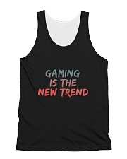 GAMING IS THE NEW TREND All-over Unisex Tank thumbnail
