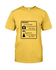 A Hiker's Therapy Classic T-Shirt thumbnail