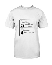 A Hiker's Therapy Classic T-Shirt tile