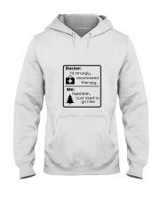 A Hiker's Therapy Hooded Sweatshirt thumbnail