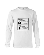 A Hiker's Therapy Long Sleeve Tee thumbnail