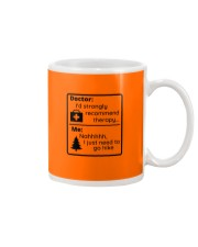 A Hiker's Therapy Mug front