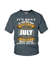 July Queens - Perfect Present For The Queens -  Youth T-Shirt front