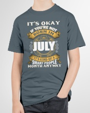 July Queens - Perfect Present For The Queens -  Youth T-Shirt garment-youth-tshirt-front-lifestyle-01