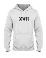 XVII-Designs Hooded Sweatshirt front