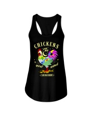Chickens are my Spirit Animal Ladies Flowy Tank thumbnail