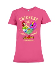 Chickens are my Spirit Animal Premium Fit Ladies Tee thumbnail
