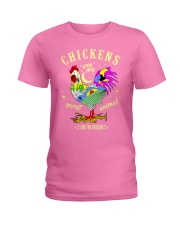 Chickens are my Spirit Animal Ladies T-Shirt thumbnail