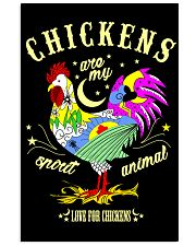 Chickens are my Spirit Animal 11x17 Poster thumbnail
