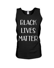 Black Lives Matter Face mask t shirt Unisex Tank thumbnail