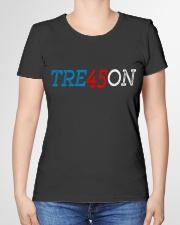 TRE45ON Shirt Trump Treason democrat  Premium Fit Ladies Tee garment-premium-tshirt-ladies-front-01