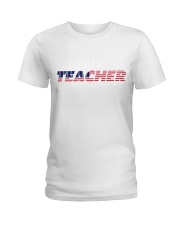 Ltd Edition Teachers really DO CARE Ladies T-Shirt front