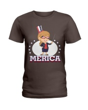 Ltd Edition Tshirt for Independence Day Ladies T-Shirt front