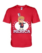 Ltd Edition Tshirt for Independence Day V-Neck T-Shirt thumbnail