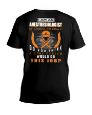 I am an Anesthesiologist V-Neck T-Shirt thumbnail