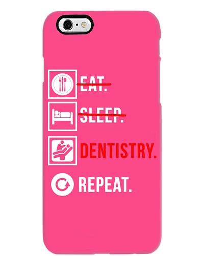 DENTIST Eat sleep dentistry repeat funny t shirt