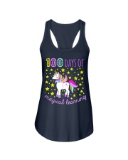100 days of school magical learning cool t shirt Ladies Flowy Tank thumbnail