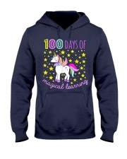 100 days of school magical learning cool t shirt Hooded Sweatshirt thumbnail