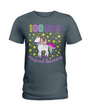 100 days of school magical learning cool t shirt Ladies T-Shirt thumbnail