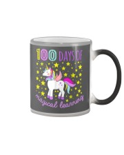100 days of school magical learning cool t shirt Color Changing Mug thumbnail