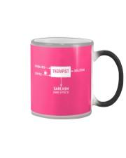 therapist-coffee-shirt Color Changing Mug thumbnail