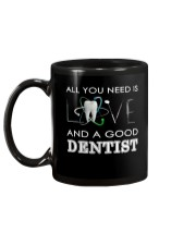 All you need is Love and a good Dentist Mug back