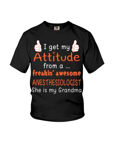 Anesthesiologist is my grandma