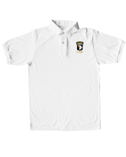 Airbone US Army  Classic Polo embroidery-polo-short-sleeve-layflat-front