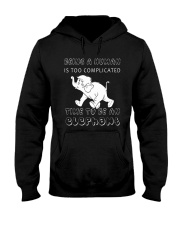 Time to be an Elephant Hooded Sweatshirt thumbnail
