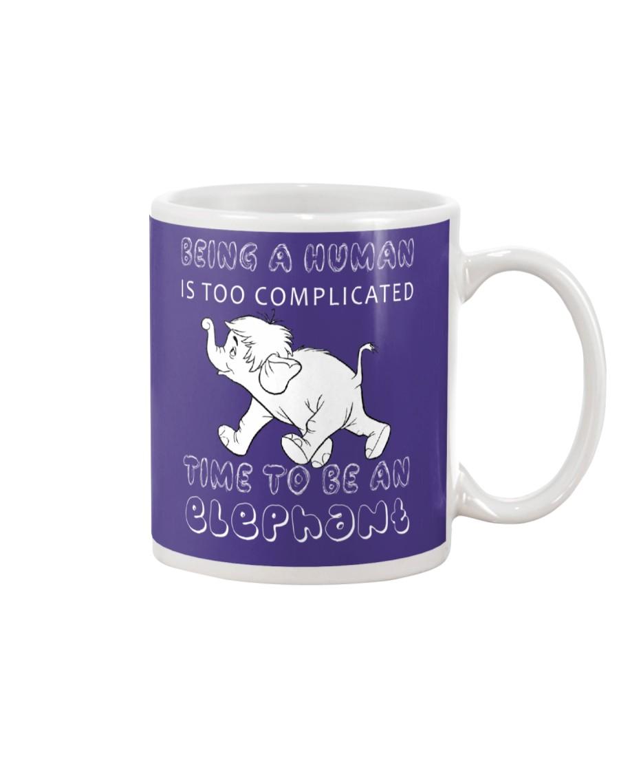 Time to be an Elephant Mug
