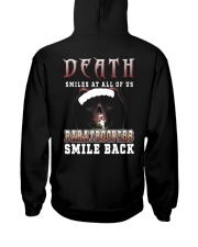 Death smiles at all of us Paratroopers smile back Hooded Sweatshirt thumbnail
