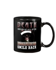 Death smiles at all of us Paratroopers smile back Mug thumbnail
