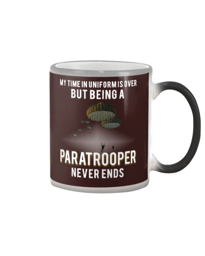 being a Paratrooper never ends