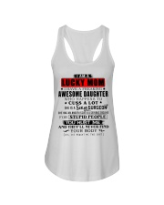 Surgeon lucky mom Ladies Flowy Tank thumbnail