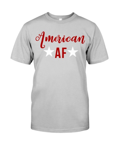 American AF for independence day t shirt