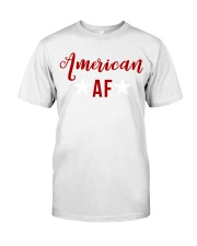 American AF for independence day t shirt Premium Fit Mens Tee thumbnail