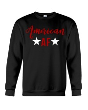 American AF for independence day t shirt Crewneck Sweatshirt thumbnail