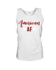 American AF for independence day t shirt Unisex Tank thumbnail